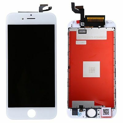New Replacement White LCD Screen + 3D Touch Digitizer Asembly for iPhone 6S 4.7""