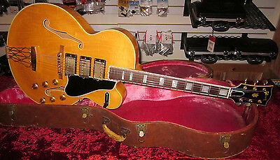 Gibson 1960 Vintage ES-5 Switchmaster Blonde With Original Brown Case