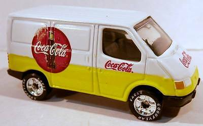 Matchbox Ford Transit Van Coca-Cola COKE Delivery Truck w/Rubber Tires