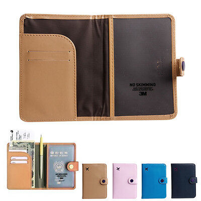 New Travel Organizer ID Card Passport Holder Protector Cover Case Wallet
