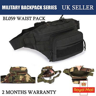 100% New Military Waist Pack BL059 Molle Utility Outdoor Pouch Running Hiking