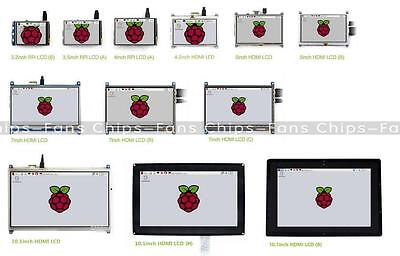 LCD Touch Screen Display for Raspberry Pi 3 / 2 / B+ 2.4 inch to 5 inch HMI LCD