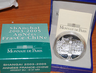 France 2005 Shanghai Chine 2003 1/4 euro Silver Proof China Shangai 0,25€ argent