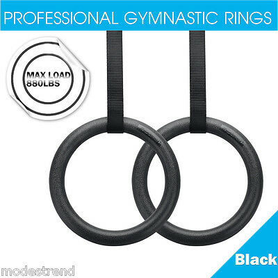 Adjustable Olympic Gymnastic Crossfit Gym Strength Fitness Training Rings