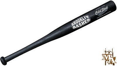 "Cold Steel Brooklyn Basher Baseball Bat 24"" Polypropylene Plastic Training Club"