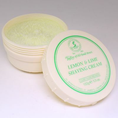 Lemon & Lime Luxury Shaving Cream 150g, Taylor of Old Bond St
