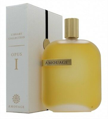 Amouage The Library Collection Opus I Eau De Parfum 100Ml. New. Free Shipping