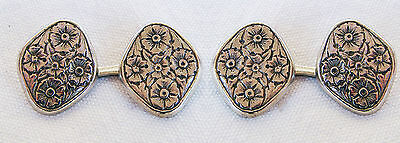 Vintage Gemelli Art Nouveau - Liberty - Cufflinks - In Metallo O Argento ?
