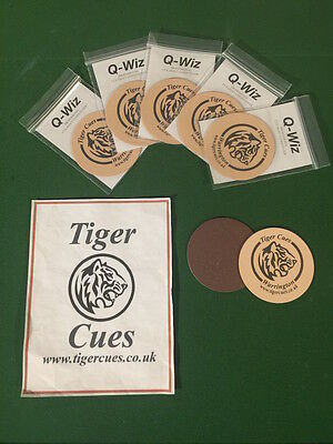 Tiger Cues - Q-Wiz Snooker & Pool Cue Shaft Conditioning Micro Pro Pad