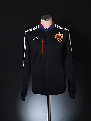 2015-16 FC Basel adidas Football Track Top Jacket *BNIB* (ALL SIZES)