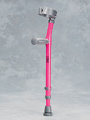 Walk Easy Forearm Crutches Toddler Height Adjustable with Full Cuff
