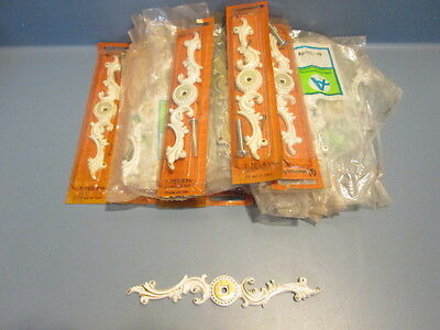 Amerock Provincial Lot of 26 Backplates Ivory Gold BP-702-BW or T-702-BW