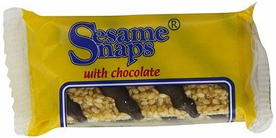 Sesame Snaps with Chocolate 30 g (Pack of 24)
