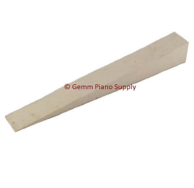 "Piano Rubber Wedge Mute, Off White 4"" x 1/2"""