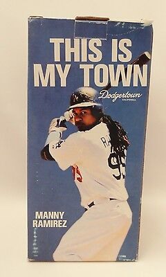 Manny Ramirez Bobble Head This Is My Town NEW!!!