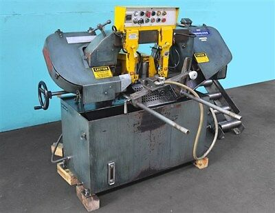 "Peerless HB-711A 10"" Automatic Horizontal Band Saw"
