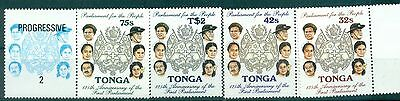 EMBLEM - NATIONAL COAT TONGA 1987 125th Parliament