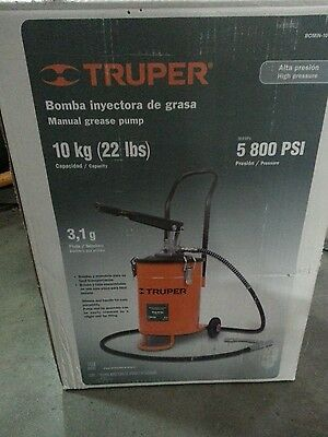 BOMIN-10 Manual grease pump TRMER 22 lbs High pressure