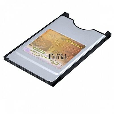Compact Flash CF Card Reader Adaptor for Laptop  2012 PCMCIA  HOT TXWD