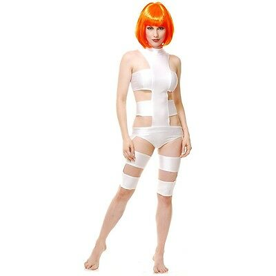 Leeloo Costume Adult The 5th Element Halloween Fancy Dress