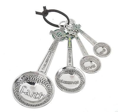 Ganz Celtic Cross Measuring Spoons  -   Set of 4   -  **FREE SHIPPING**   - NEW
