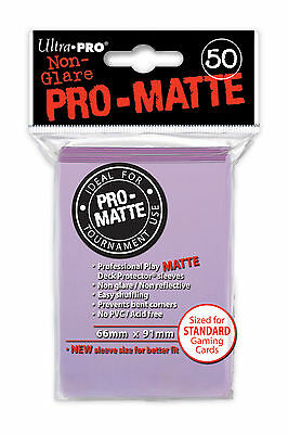 1200 24pk ULTRA PRO Pro-Matte Deck Protector Card Sleeves Magic Standard Lilac