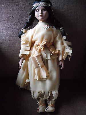 Porcelain Doll approx 40 cm tall