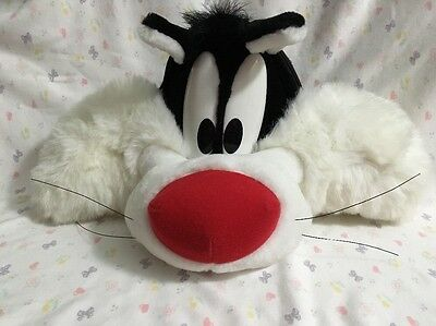 Looney Tunes SYLVESTER Cat  Plush Head BACKPACK Vintage 1996
