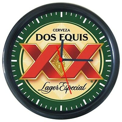 New Cool Beverage Cold Dos Equis Beer Drinks Logo Sign Round Wall Clock