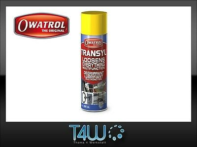 OWATROL Transyl Penetrating Lubricant loosener for rust spray / 200ml