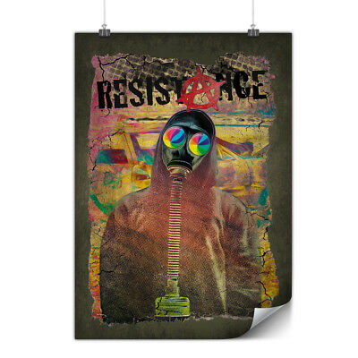 Resistance Protest Matte/Glossy Poster | Wellcoda