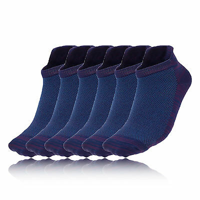 Higher State Freedom Lite Damen 6 Pack Laufsocken Socken Sportsocken Blau