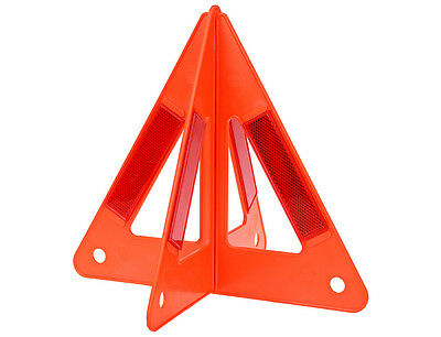 Emergency Warning Triangle Auto Car Breakdown Red Reflective Safety Road Sign