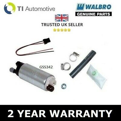 WALBRO 255 LPH FUEL PUMP UPGRADE KIT FOR RENAULT CLIO SPORT 172 182 CUP  2.0 16v