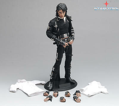 """STAR TOYS 1/6 Michael Jackson Collection BAD MJ 12"""" Action Figure Model Gift"""