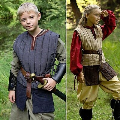 Sleeveless Gambeson Padded Armour Ideal for Re-enactment, Stage, Combat And LARP