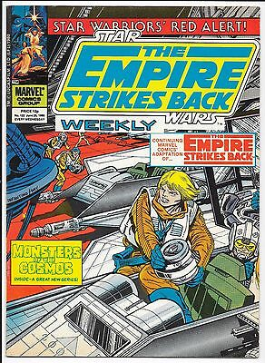 """Marvel Comics - Star Wars Weekly """"The Empire Strikes Back"""" - #122 June 25th 1980"""