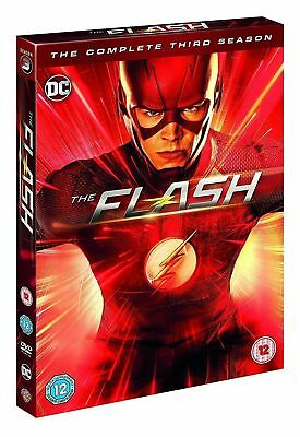 The Flash Season 3 Complete DVD New & Sealed Region 2 Christmas Gift