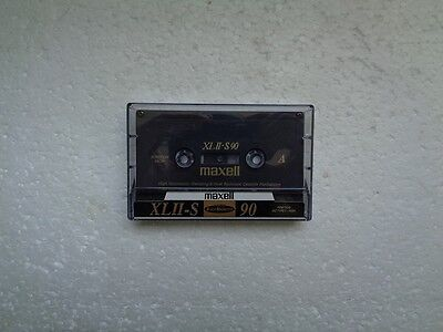 Vintage Audio Cassette MAXELL XLII-S 90 From 1994 - Fantastic Condition !!