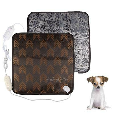 Waterproof Electric Heating Pad Heater Warmer Cushion For Dog Cat Pet Puppy Mat