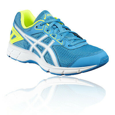 Asics Gel-Galaxy 9 GS Junior Bleu Amorti Running Route Sport Chaussures Baskets