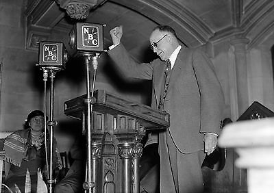 Art Print POSTER / CANVAS Billy Sunday Preaching at Bowery Mission