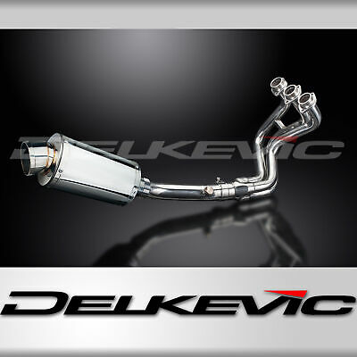 Full Exhaust System MT-09 (2013-2016) Stainless Steel 225mm Oval Silencer