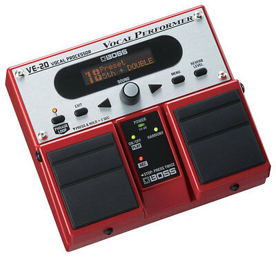 Boss VE-20 Vocal Effects Pedal (NEW)