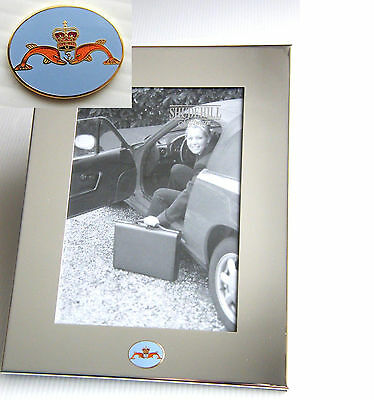 Navy Sub Mariners Army Badge Silver Chrome Plated Photo Frame See Size Options