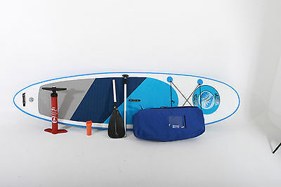 "Mussel Boards 10'6"" Inflatable SUP Stand Up Paddle Board Package Deal"