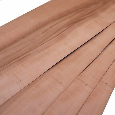 "Wood veneer - Boire - Sheet: 3ft 9"" x 9"" ( 115 cm x 23 cm )"