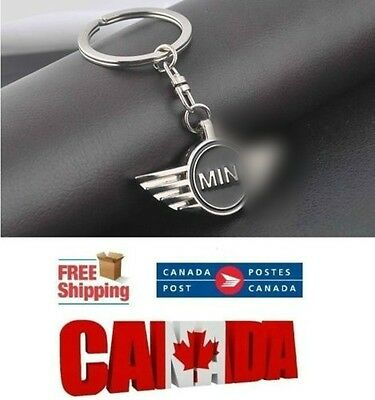 Fashion Engraved MINI Alloy Key Chain Car Keychain Ring Keyrings for Cooper
