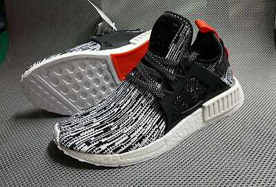 2c9a4396d MENS Adidas NMD XR1 PK Primeknit Glitch Camo White Core Black Solar Red  S32216
