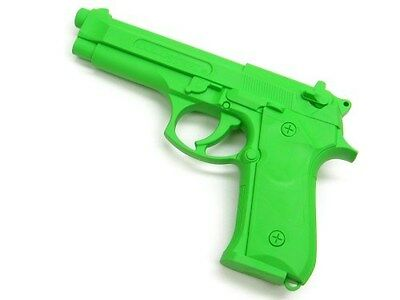COLD STEEL Green MODEL 92 Rubber Trainer Training PRACTICE Gun Pistol! 92RGB92Z